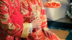 جشن عروسی در چین