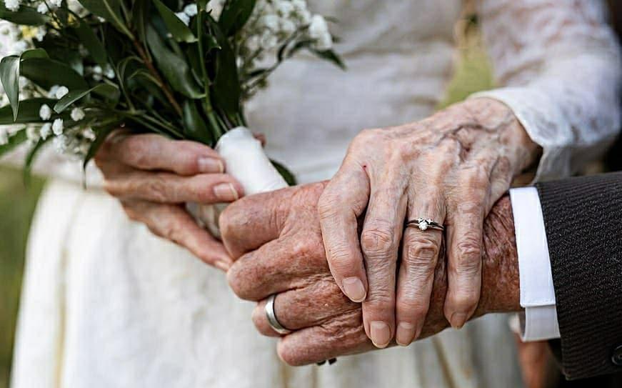 شصتمین سالگرد ازدواج زوج آمریکایی