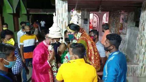 مراسم عروسی زوج هندوستانی